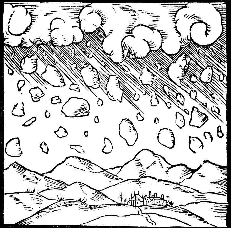 900x887 Meteor Drawings Fine Art America
