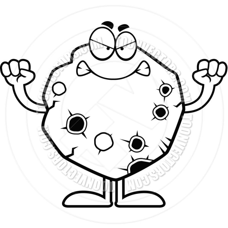 800x800 Asteroid Clipart Black And White
