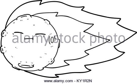 450x276 Freehand Drawn Cartoon Meteor Stock Vector Art Amp Illustration