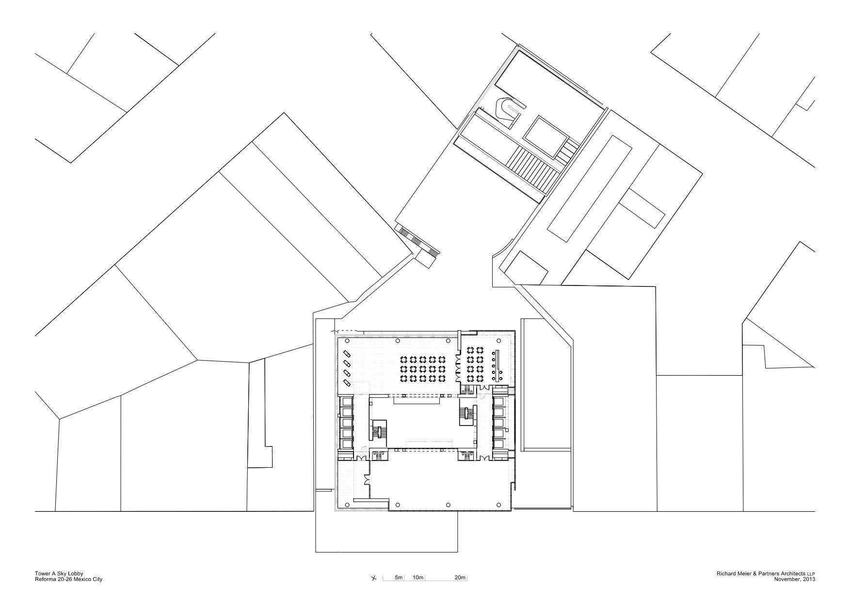 1753x1240 Gallery Of Richard Meier Unveils 180 Meter Tower Development