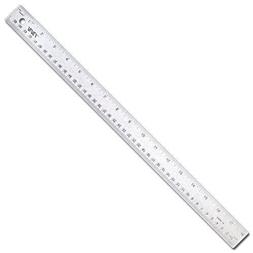 500x500 Vinca Ssra 20 Stainless Steel Office Drawing Ruler 0