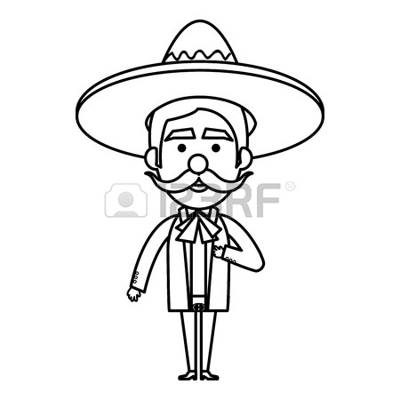 450x450 Mexican Man Cartoon Images Amp Stock Pictures. Royalty Free Mexican