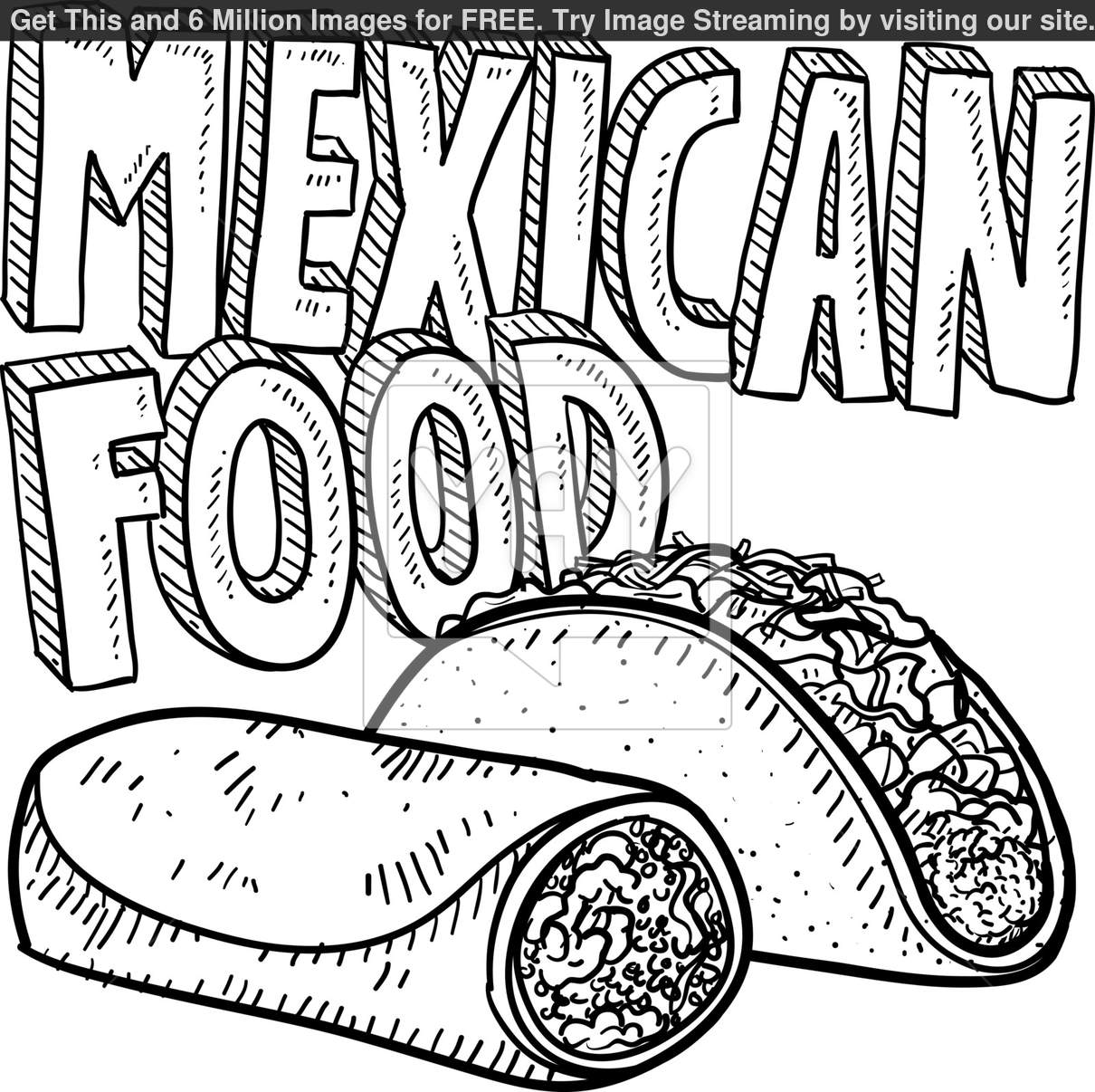 1210x1206 Mexican Coloring Pages Paginone.biz