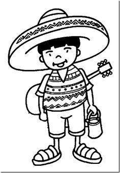 236x339 Mexico Coloring Pages