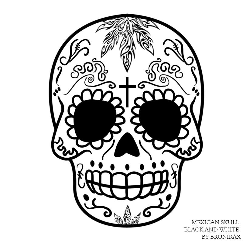 800x800 Mexican Skull By Brunirax By Brunirax On DeviantArt