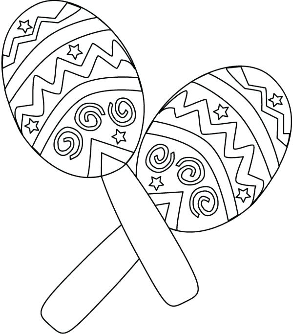 600x683 Mexican Food Coloring Pages Chili Coloring Page Mexican Food
