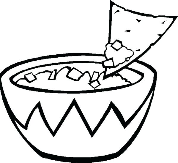 printable mexican food coloring pages - photo#11