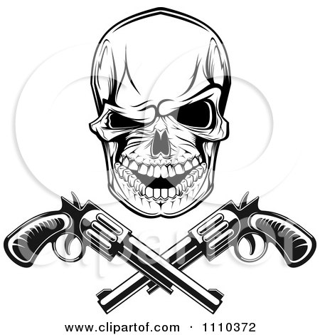450x470 Clipart Of A Black White Mexican Bandit Wearing A Poncho