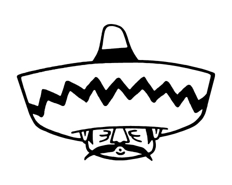 463x370 Shutterstock Simple Mexican Man Drawing