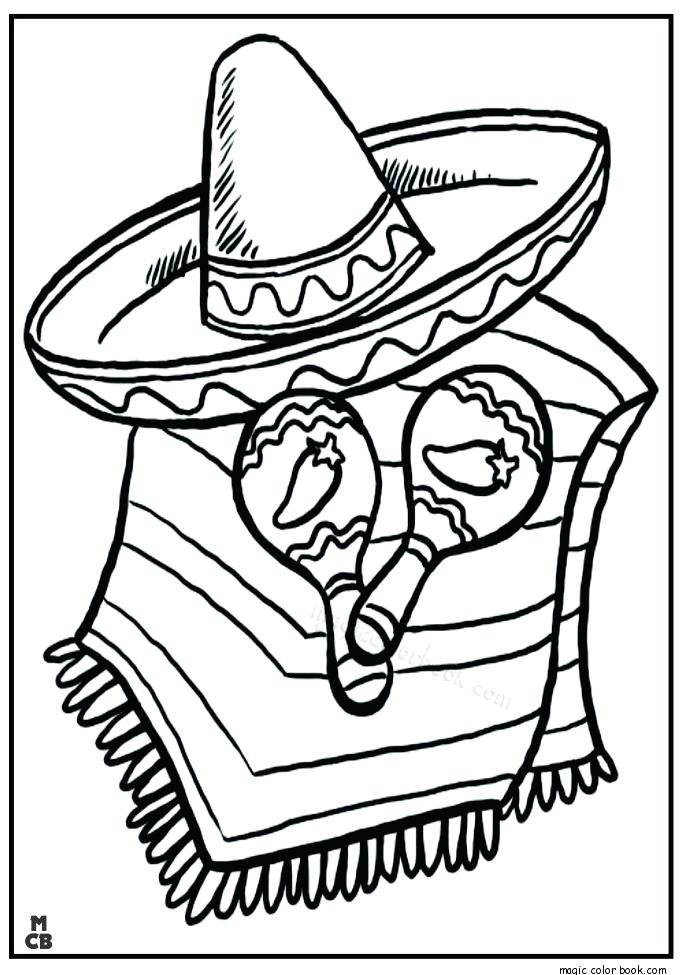 Mexican Hat Drawing at GetDrawings Free for personal