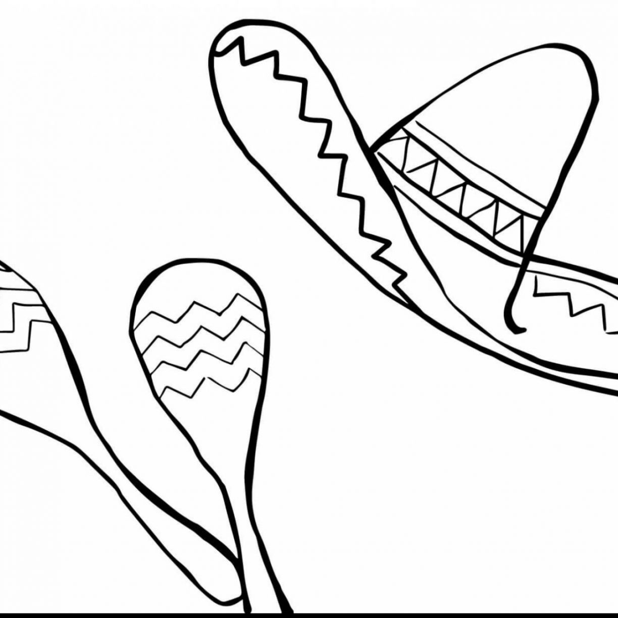 mexican hat drawing at getdrawings com free for personal use