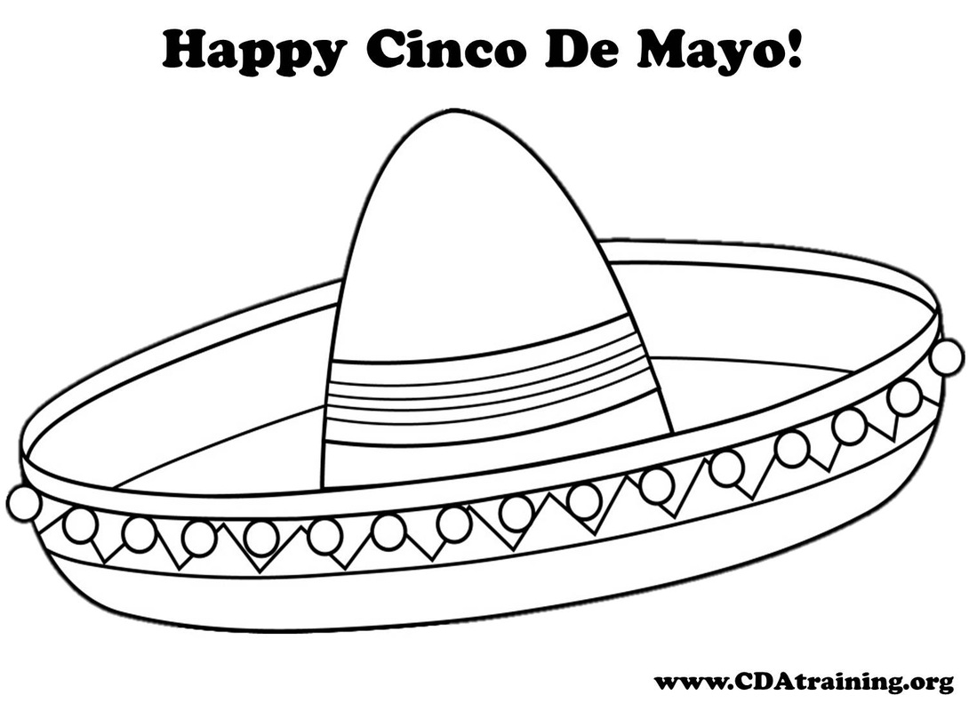 Mexican Hat Drawing at GetDrawings.com | Free for personal use ...