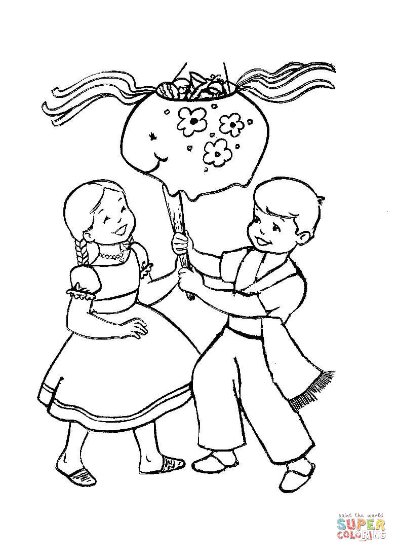 784x1088 Christmas In Mexico Coloring Page Free Printable Coloring Pages