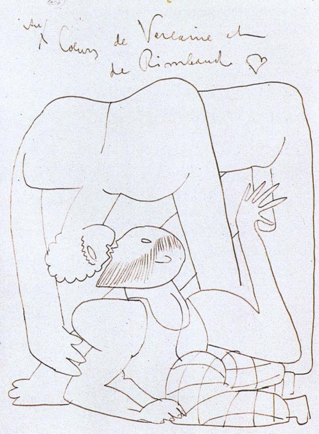 651x886 Eisenstein's Mexico Odyssey Homoerotic Drawings Queer Art