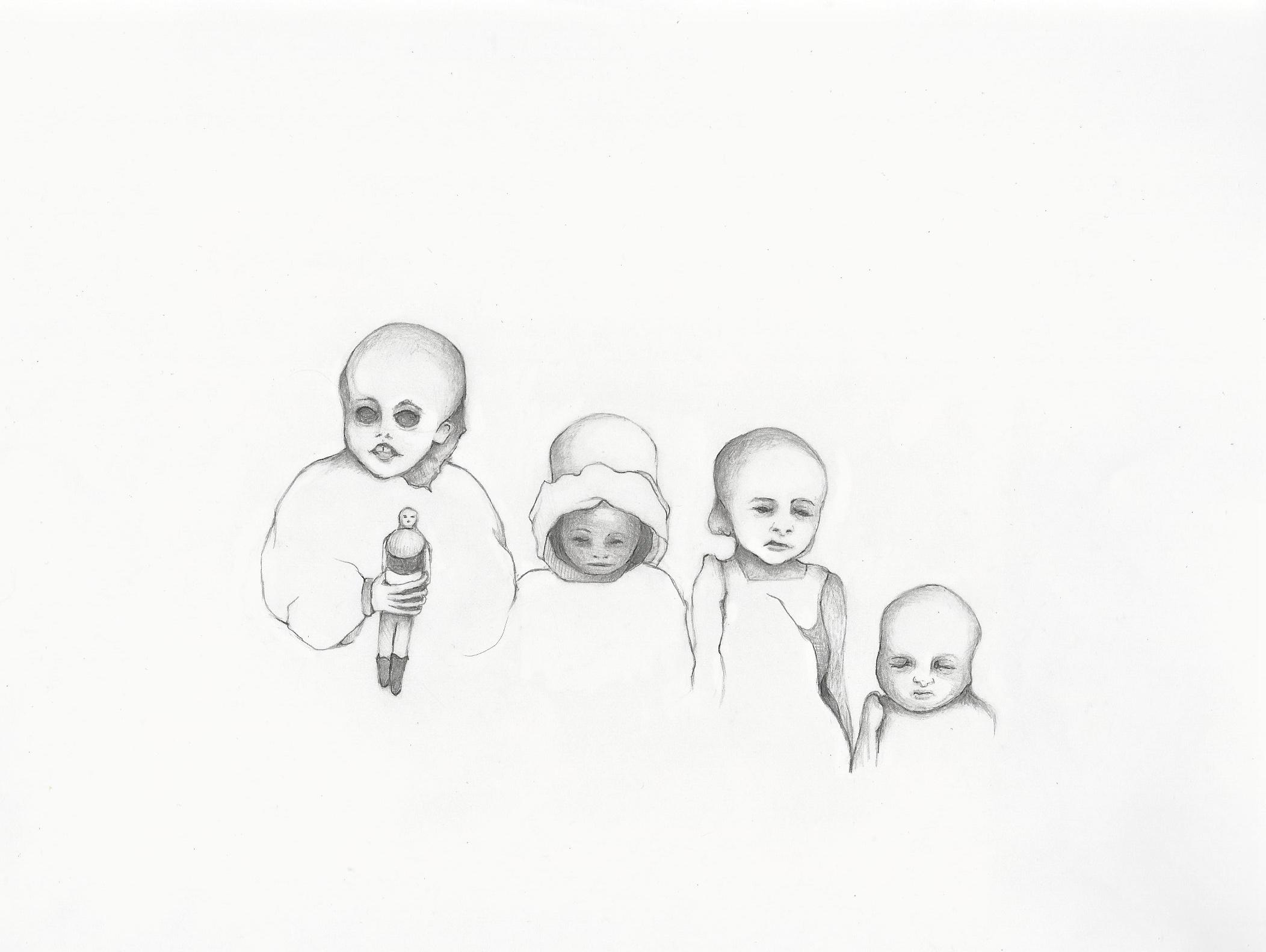 2104x1582 Laura Stanziola, Mummified Children With Doll, Guanajuato, Mexico