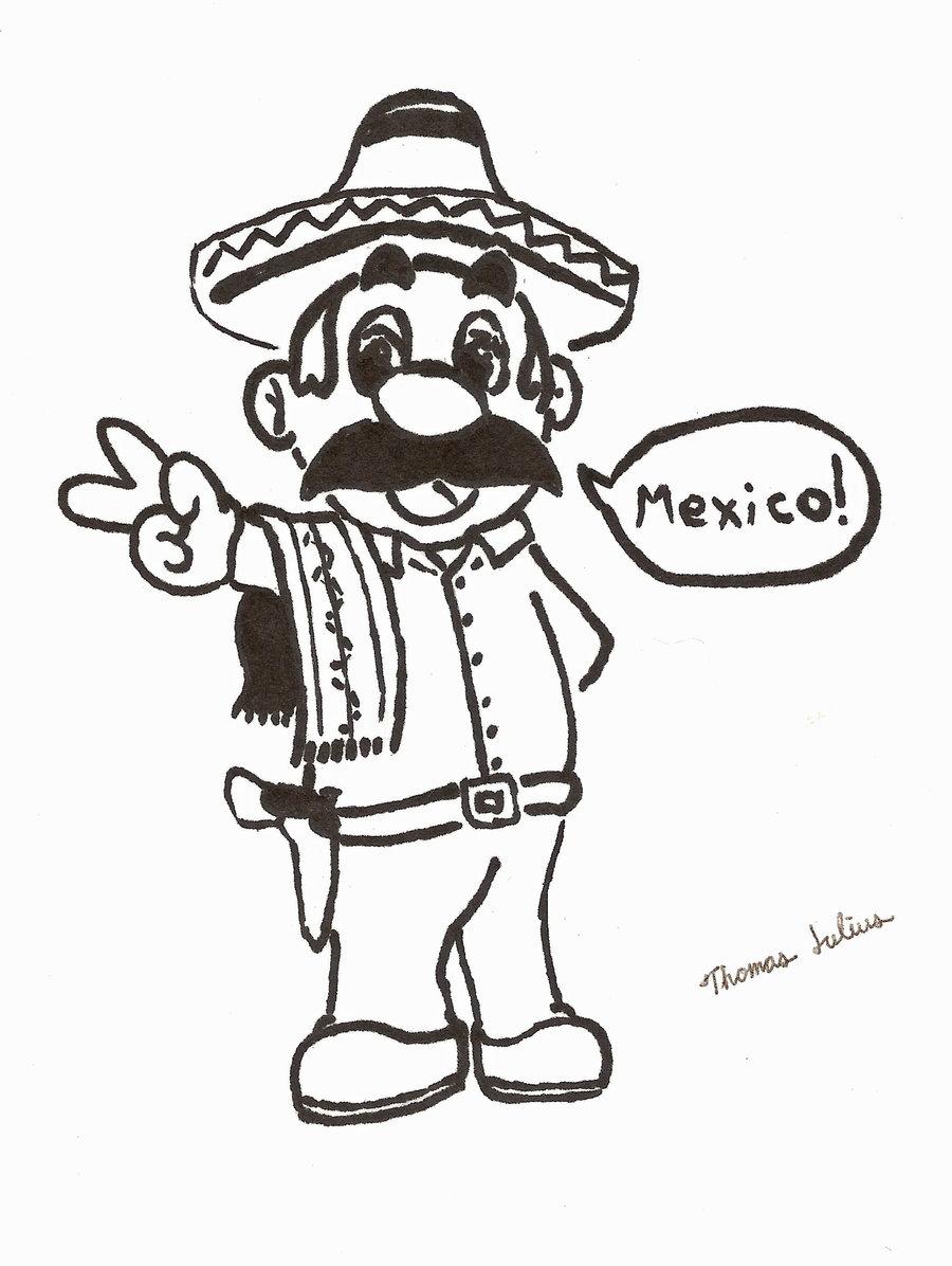 900x1196 Mexican Mario By Teejay2damaxx