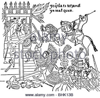 327x320 Geography Travel, Mexico, People, Aztec Warriors Making Captives
