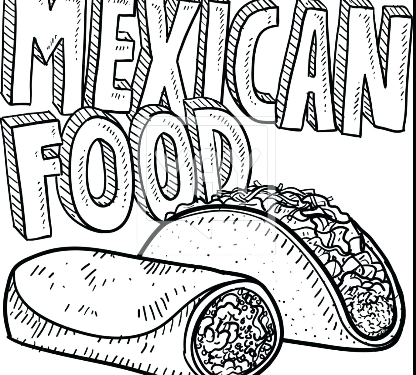 1331x1200 Coloring Pages Of Mexico