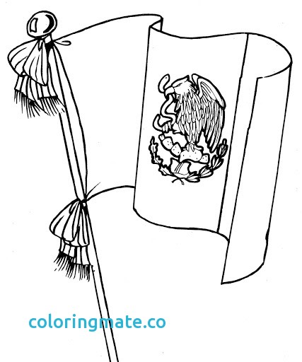 427x512 Mexican Flag Coloring Page Luxury Mexican Flag Coloring Print Out