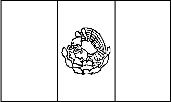 669x400 Mexico Flags Coloring Pages Disney Coloring Pages