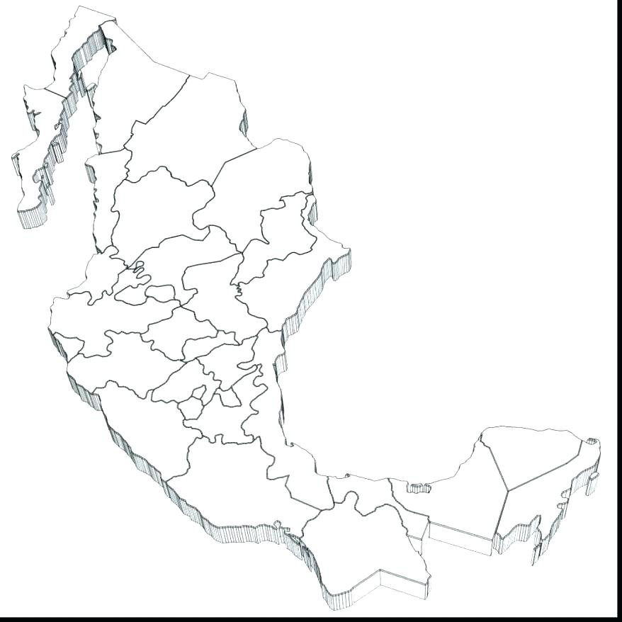 878x878 Flag Of Mexico Coloring Page Synthesis.site
