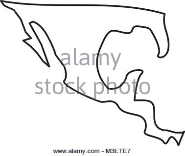 378x320 Mexican Flag Map Silhouette Stock Photo 169549891