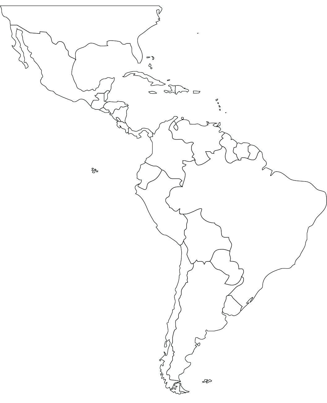 Mexico map drawing at free for personal for Mexico map coloring page