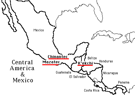 436x306 Map Of Central America