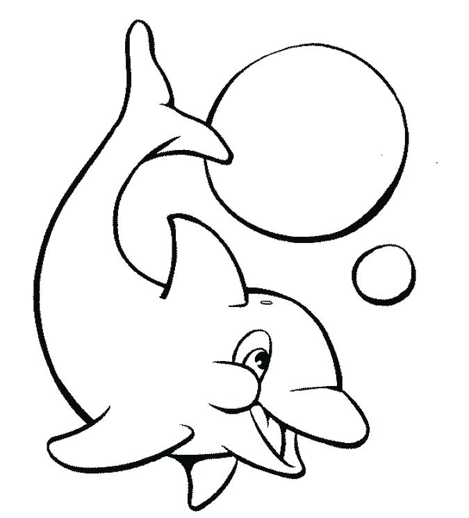 675x746 Coloring Pages Dolphin Dolphin Coloring Pages Free Coloring Sheets