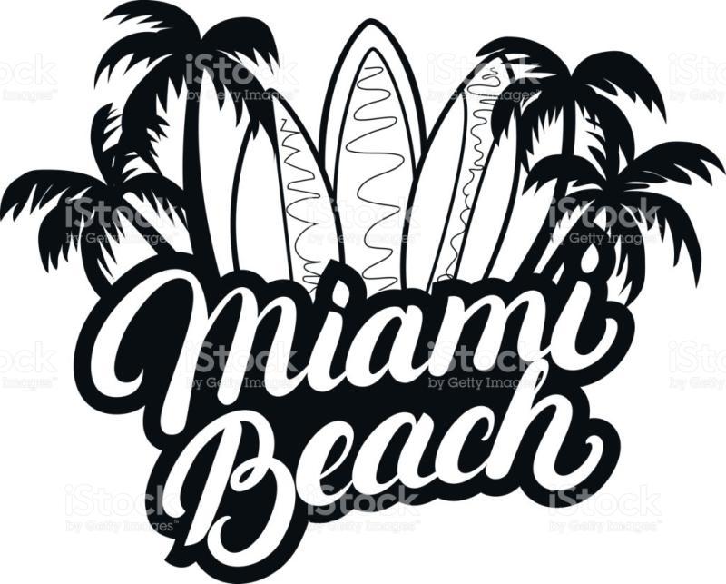 800x643 Miami Beach Clipart