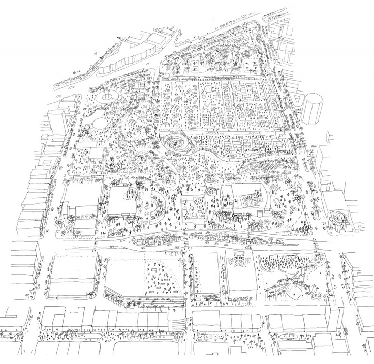 736x716 Gallery Of Oma Proposes Radical Redevelopment Plan For The Miami