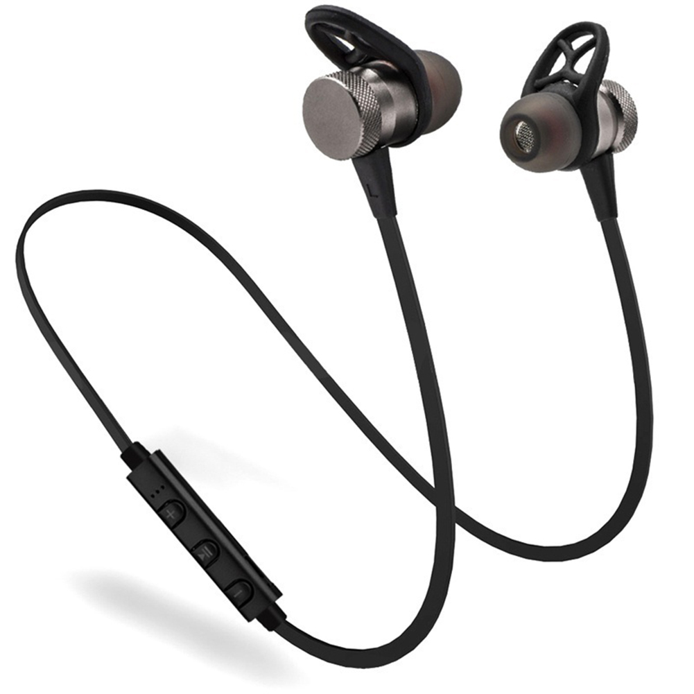 1001x1001 Bluetooth Headphone Wireless Headset Magnetic Bottom Earbuds