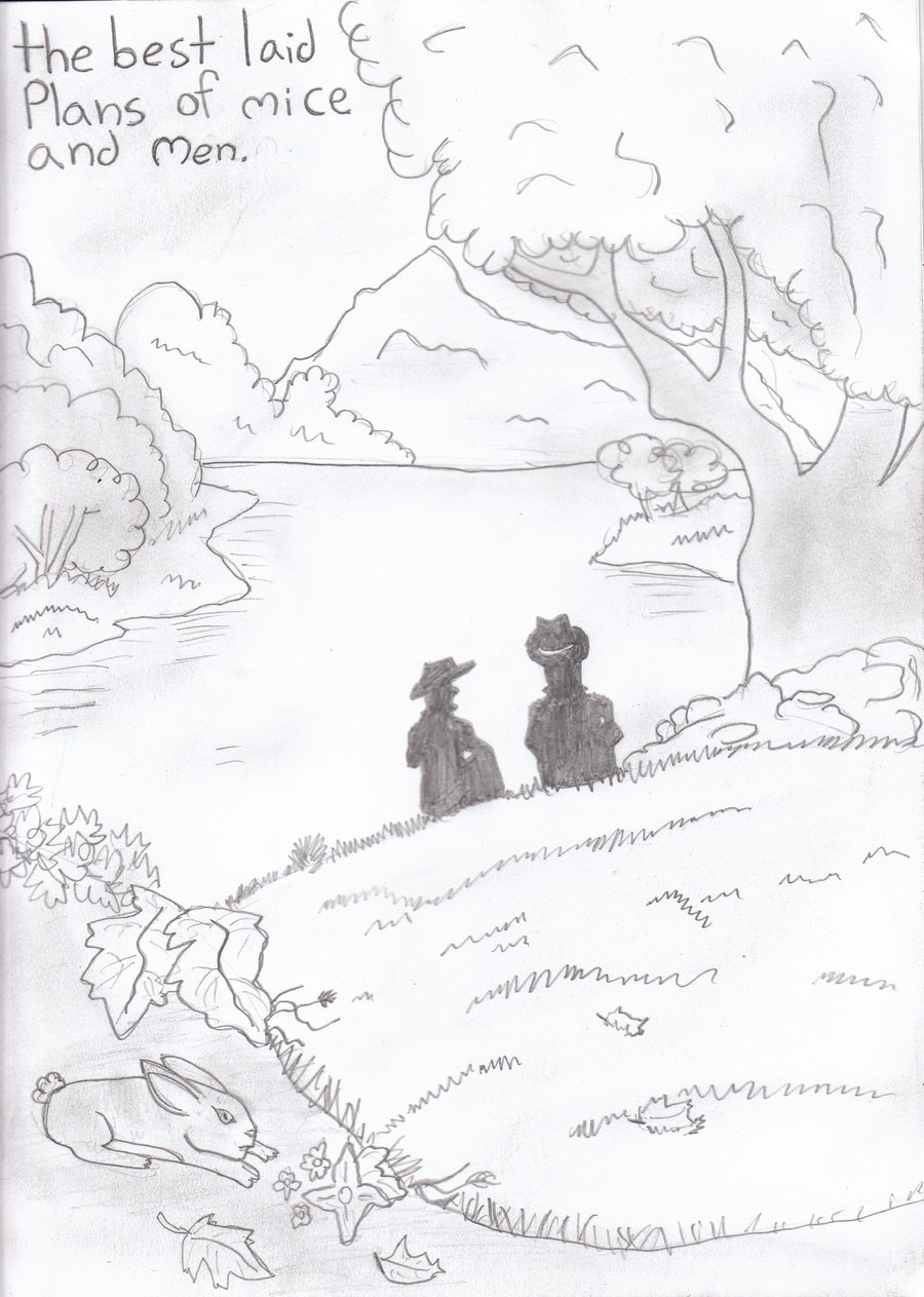 900x1263 Of Mice And Men By O Rainpelt O