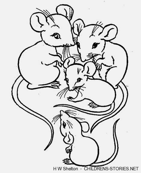 470x575 The Mill Creek Mouse Family By H W Shelton