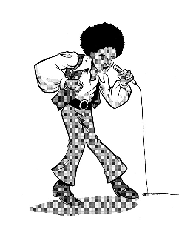 600x787 Michael Jackson Pinup Ben Towle Cartoonist, Educator, Hobo