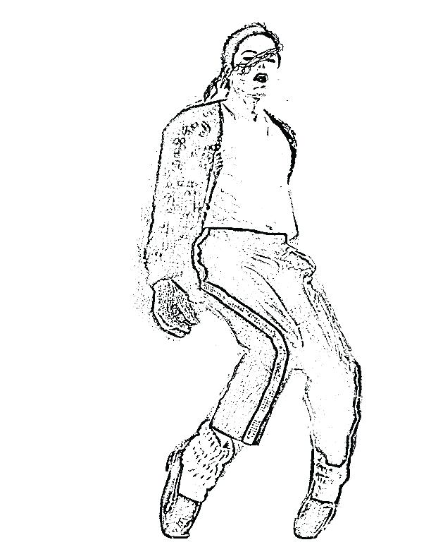 612x792 Amazing Michael Jackson Coloring Pages Or Coloring Page Print Jean