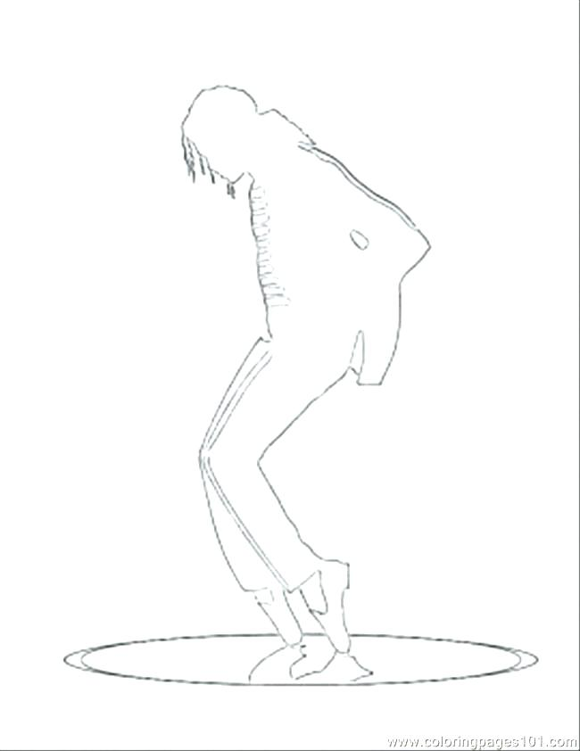 650x842 Michael Jackson Coloring Pages
