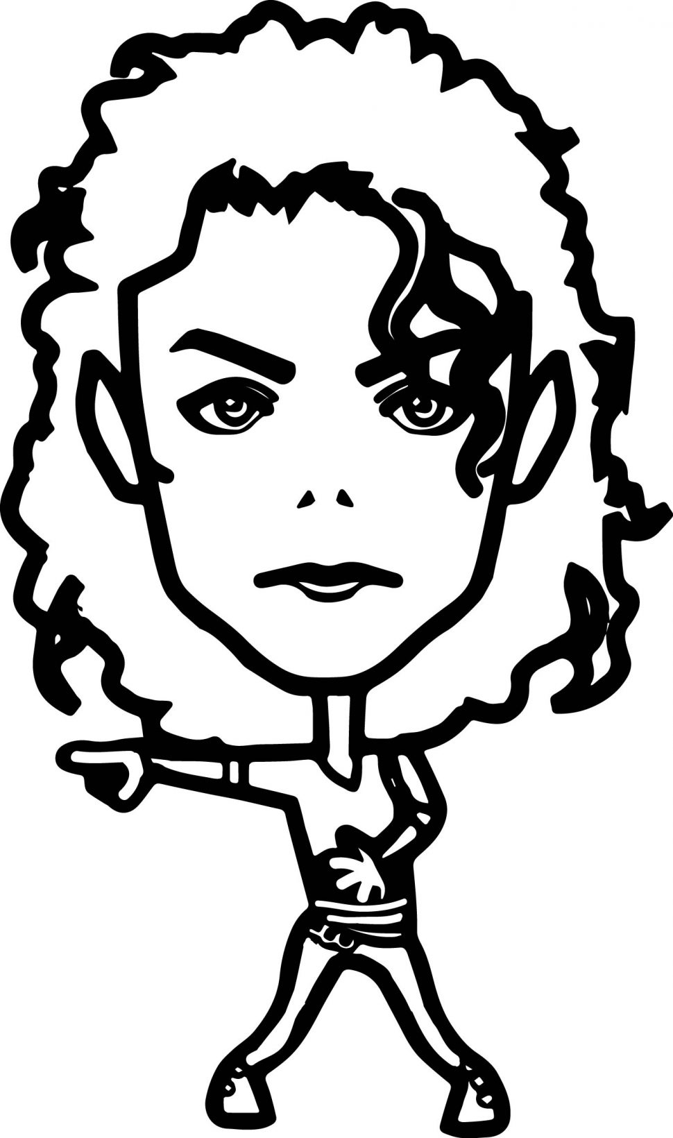 970x1640 Coloring Dancing Michael Jackson Coloring Page Wecoloringpage