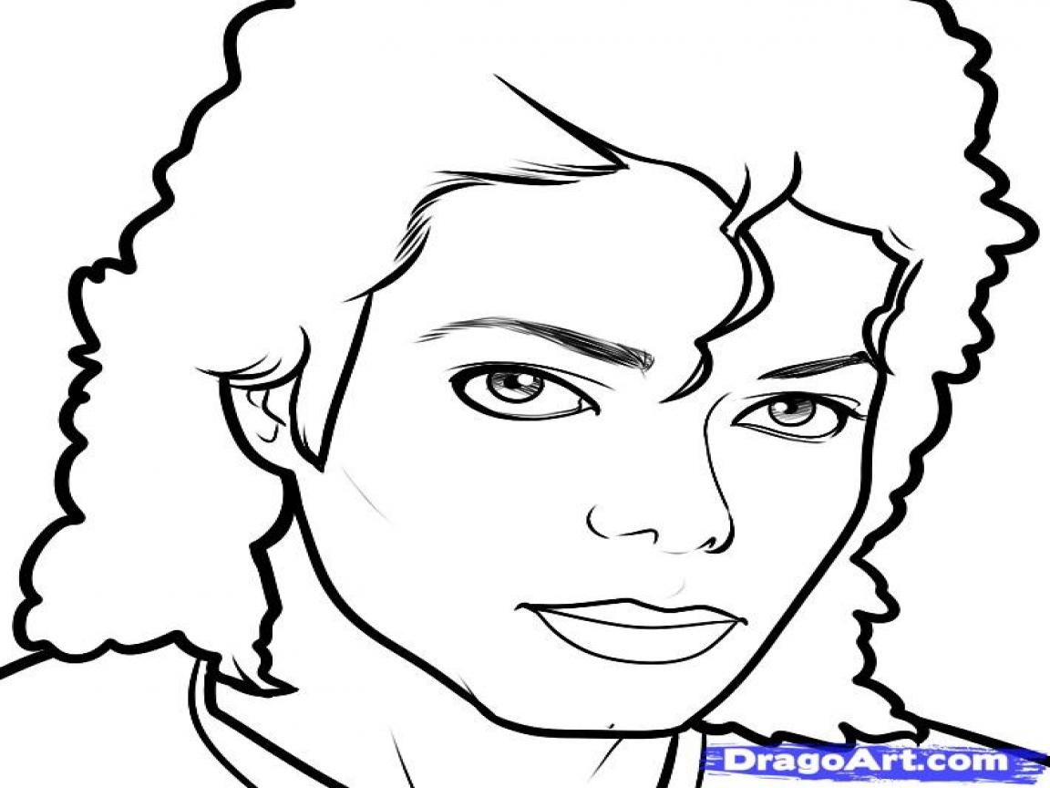 1152x864 Michael Jackson Coloring Pages Paginone.biz