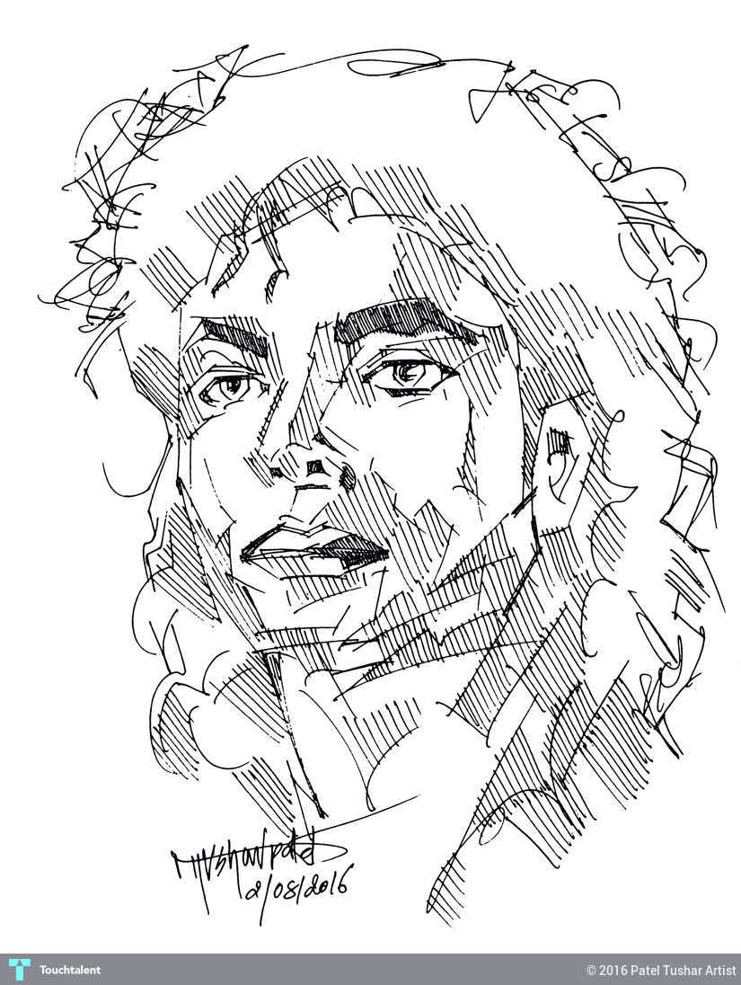825x1096 Michael Jackson Line Drawing Touchtalent