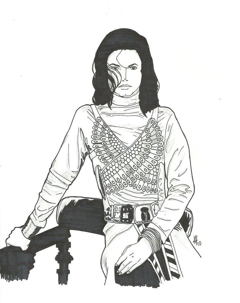 796x1004 Anime Michael Jackson 3 By Captainmj