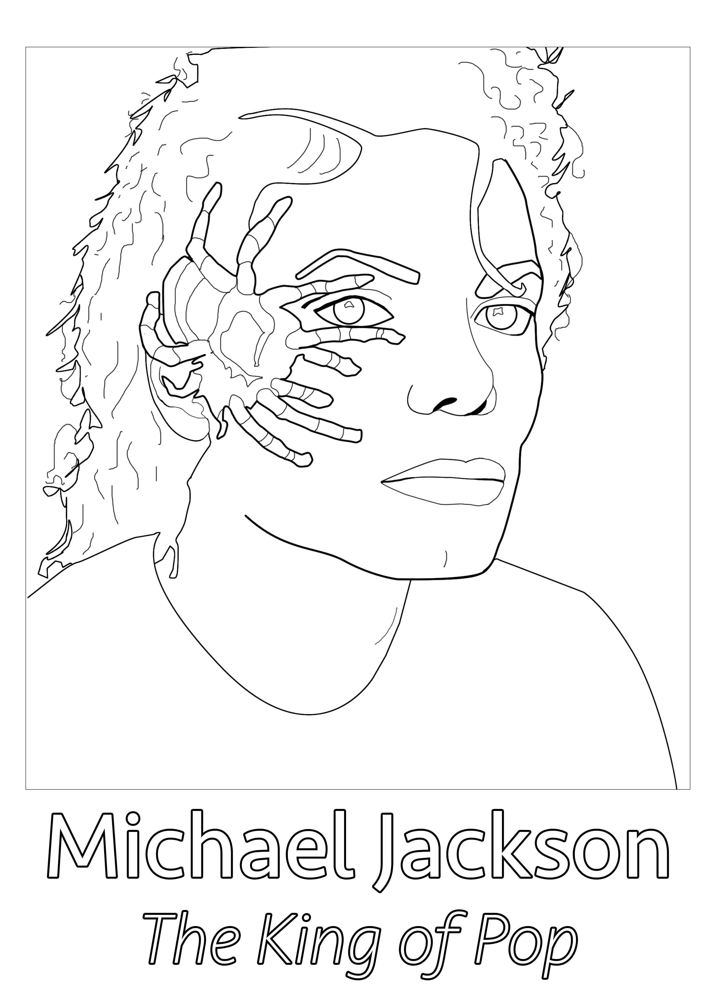 2480x3508 Michael Jackson Spider Unclassifiable