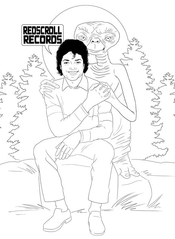 586x800 Teaessare Illustration Amp Design Creating A Michael Jackson