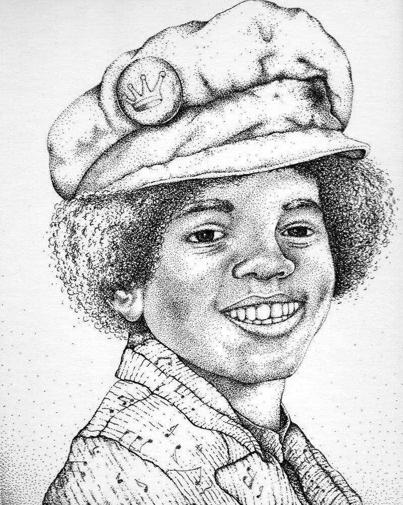 798x1001 Young Michael Jackson By Stpollard