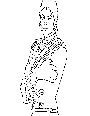 309x400 Famous Michael Jackson Thriller Coloring Pages Gallery