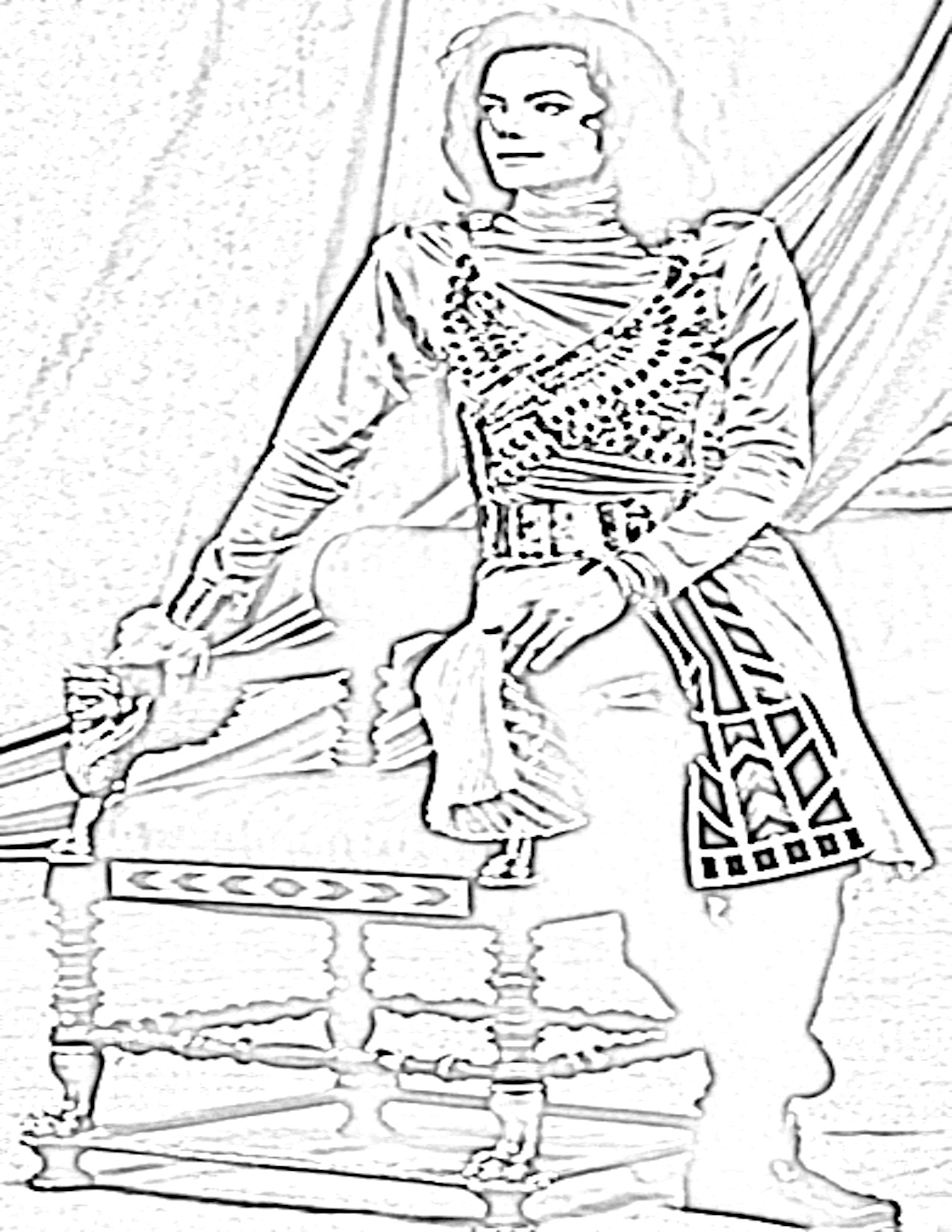 1275x1650 Michael Jackson Coloring Book Many Interesting Cliparts