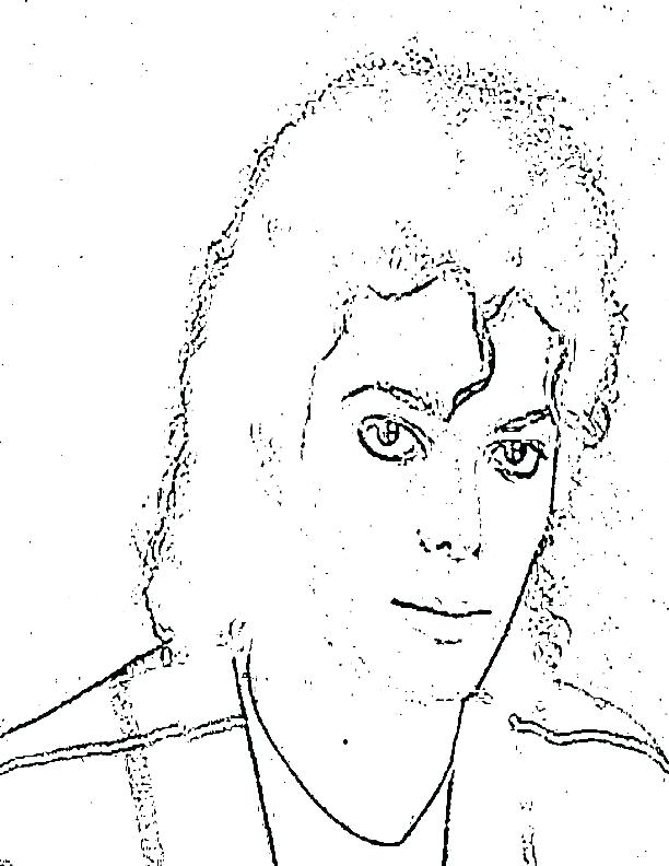 612x792 Michael Jackson Coloring Pages Dragon Ball Z Super Anime Manga