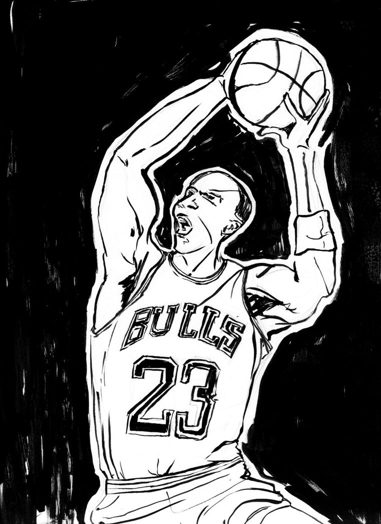 762x1048 Michael Jordan By Turhangross