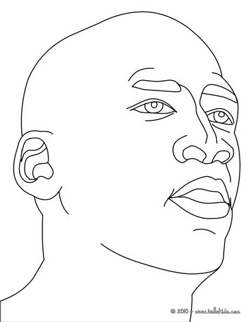 364x470 Michael Jordan Coloring Pages