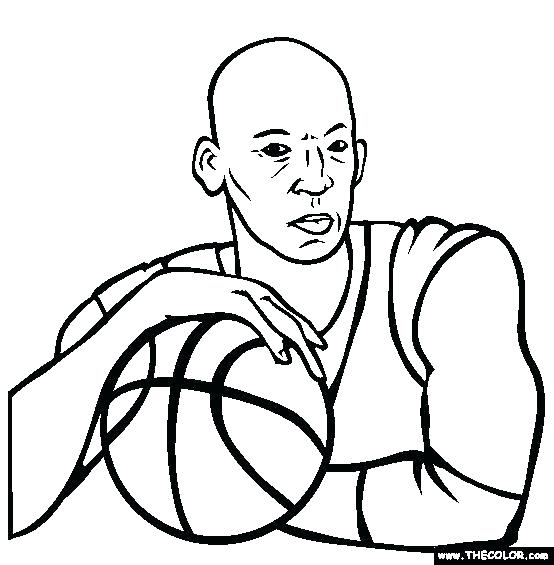 554x565 Cool Michael Jordan Coloring Pages Kids Air 4 Sheet
